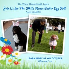 The White House Easter Egg Roll social event is all set to start on April 6, 2015 with President Barack Obama and First Lady Michelle Obama. Facebook, Instagram, Twitter and Vine users are all welcome to join in the fun.