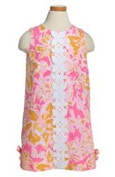 Lilly Pulitzer® 'Little Lilly' Shift Dress (Toddler Girls, Little Girls & Big Girls)