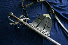 Rapier, Scabbard and Hanger by Jesse Belsky