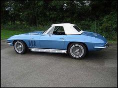 1965 Chevrolet Corvette Convertible L76 327/365 HP, 4-Speed