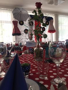 Table Decorations, Retro, Wedding, Furniture, Home Decor, Valentines Day Weddings, Decoration Home, Room Decor, Home Furnishings
