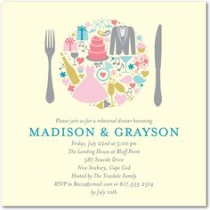 Shutterfly offers rehearsal dinner invitations in beautiful styles and colors. Create wedding rehearsal dinner invitations to celebrate your special day + Save up to Rehearsal Dinner Invitations, Wedding Rehearsal, Rehearsal Dinners, Bridal Shower Invitations, Party Invitations, Invites, Anniversary Invitations, 25th Wedding Anniversary, Anniversary Parties