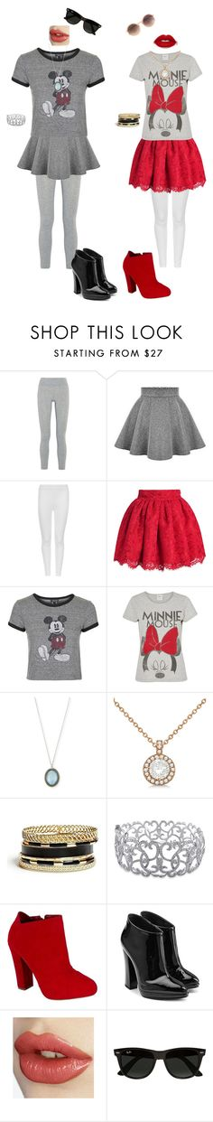 """""""Besties"""" by emilymedina on Polyvore featuring LAAIN, M&S Collection, Topshop, Vero Moda, Armenta, Allurez, GUESS, Ice, Qupid and Giuseppe Zanotti"""