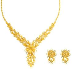Gold necklace designs in 15 grams are perfect to look as well as cost. Here are the top 15 gram gold necklace designs for women in India. Gold Chain Design, Gold Bangles Design, Gold Earrings Designs, Gold Jewellery Design, Necklace Designs, Gold Designs, Gold Necklace Simple, Gold Jewelry Simple, Gold Jhumka Earrings