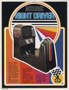 Atari Night Driver 1976