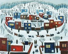 Winter Village - Radi Nedelchev