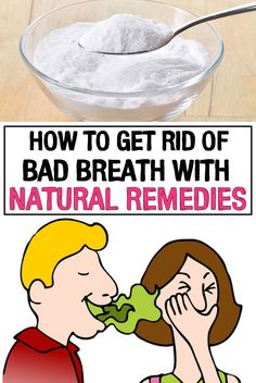 See how to Get Rid of Bad Breath with Natural Remedies Bad breath is caused by bacteria that digest food and can occur even if you adopt a drastic diet. Most people who experience this problem turn to breath mints but this only triggers a vicious circ Chronic Bad Breath, Causes Of Bad Breath, Bad Breath Remedy, Oral Health, Health Tips, Health Care, Teeth Health, Women's Health, Mental Health