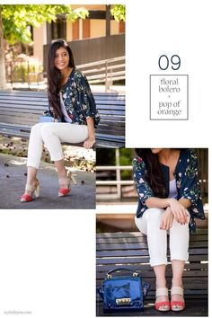 Which colour top can go with white jeans? - Quora