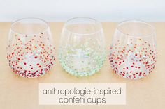 anthropologie-inspired cups