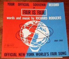 World's Fair 1964 Memorabilia Worth - Bing Images