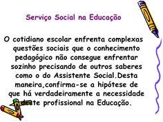 Serviço social.