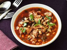 Warm up with a bowl of White Chicken Chilli