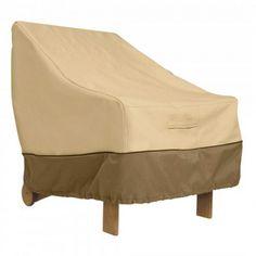 Veranda Patio Chair Cover Durable Adirondack High Back Wicker Standard Lounge