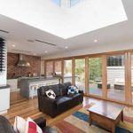 Open plan Family Kitchen Raised Roof Skylightt