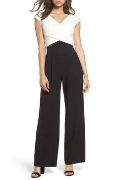 80f1d0db2a65 Eliza J Cap Sleeve Jumpsuit (Regular   Petite)