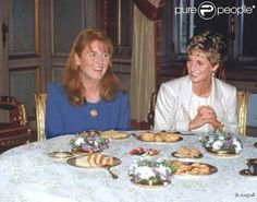 Sarah and Diana. Not sure where or when this was taken.