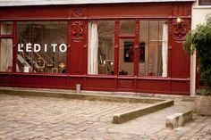 Aujourd'hui sur le blog Dominique Décoratrice, Ouverture du Showroom de l'Edito à Paris