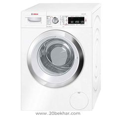 Bosch Serie 8 Logixx Front-Loading Washing Machine - 9 kg - White Washing Machine Reviews, Bosch Washing Machine, Home Appliances, White White, Advertising, Products, Washing Machine, House Appliances, Kitchen Appliances