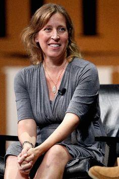 Susan Wojcicki, CEO of YouTube | The Most Powerful Women In Tech 2015