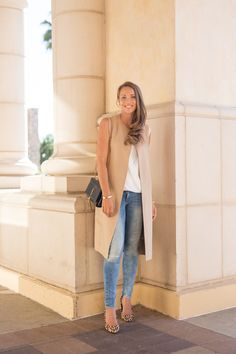 vest ZARA, bag YSL, jeans H&M, shoes MODA IN PELLE, blouse BCBGMAXAZRIA | Hanna Väyrynen