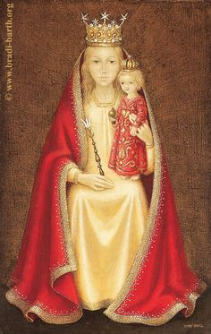 Behold thy Mother and Holy Queen! Bradi-Barth - AU-48