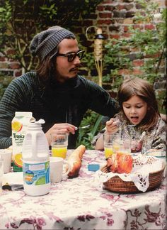 depp with daughter lily rose