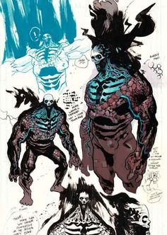 Draw Creatures BPRD- The Black Flame There are a number of repeating motifs, villains ,and spirits in the Hellboy universe, one of the more notable ones being the Black Flame. A supernatural entity that is linked. Monster Concept Art, Fantasy Monster, Monster Art, Creature Concept Art, Creature Design, Character Concept, Character Art, Arte Obscura, Monster Design