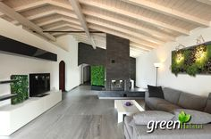 Realizzazione Indoor giardini verticali quadri a parete