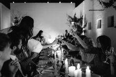 The inimitable allure of European minimalism. white washed walls set amongst an olive grove layered in linens, flickering candles and rustic touches. White Wash Walls, Wedding Reception Decorations, Luxury Wedding, Style Guides, Tablescapes, Wedding Photography, Weddings, Table Scapes, Wedding
