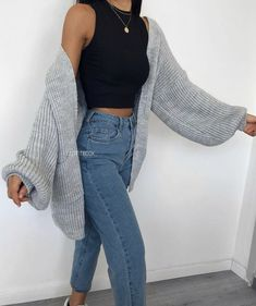 Winter Fashion Outfits, Look Fashion, Spring Outfits, Fashion Women, Fashion Tips, Outfit Chic, Stylish Outfits, Cute Casual Outfits, Pretty Outfits