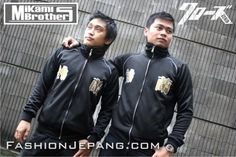 *Jaket Crows Zero - Mikami Brother *Material : Poly Adidas Best Quality
