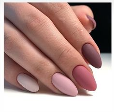 We deeply hope these 70 Most Gorgeous 😊 Almond Matte Nails Inspirational Arts. - - We deeply hope these 70 Most Gorgeous 😊 Almond Matte Nails Inspirational Arts be your favorite choice💞💅. We hope you love it and save it. Cute Acrylic Nails, Matte Nails, Fun Nails, Matte Almond Nails, Almond Nail Art, Fall Gel Nails, Pink Acrylics, Gradient Nails, Glam Nails