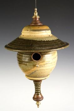 Cynthia Carr - bird house. Meet her on April 17th at Lunch with the Arts!