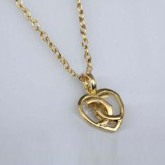 Hearts of Cartier Charm Necklace in Gold Plated
