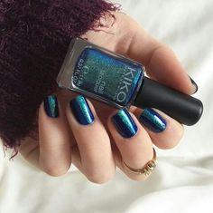 Kiko. Nails. Nail art. Ongles. Bleu.