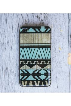 Mint Aztec Print Gel Skin for iPhone Iphone Skins, Iphone 4, Iphone Cases, Cute Cases, Cute Phone Cases, Must Have Gadgets, Jack Threads, Army Mom, Best Smartphone