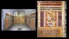 Wk 3: Second style wall painting (House of the Griffins, Palatine Hill)