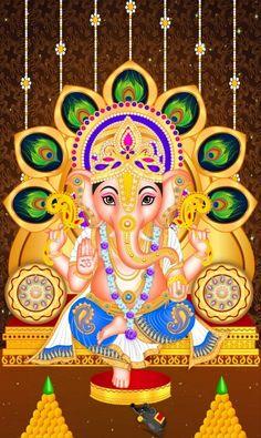 Jai Ganesh, Ganesh Lord, Shree Ganesh, Ganesha Art, Shri Ganesh Images, Ganesha Pictures, Lord Ganesha Paintings, Lord Shiva Painting, Indian Gods