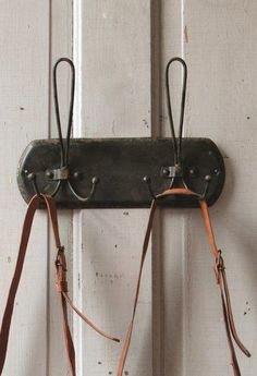 Rustic Metal Double Hooks