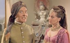 Kenneth Williams and Angela Douglas in Carry On Up the Khyber Thomas Movie, Kenneth More, Kenneth Williams, Dominic West, Jamie Bell, British Seaside, English Actresses, Great British, Queen Victoria