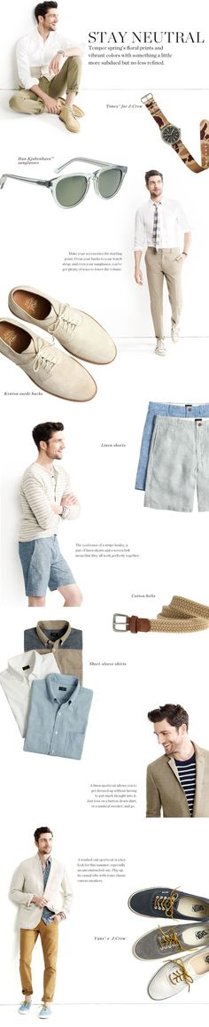 Looking for ways to update your summer style? #mensfashion #SummerStyle