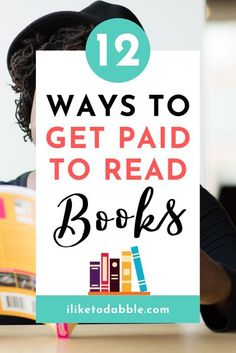 How to get paid to read books and the various different ways to make money reading books #sidehustles #makemoneyonline #readbooks #bibliophile Make Money Blogging, Make Money From Home, Money Tips, Way To Make Money, Work From Home Jobs, Make Money Online, How To Get, Money Hacks, Money Fast
