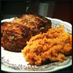 Bethenny Frankel's turkey meatloaf
