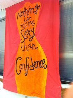 Confidence Coalition Rush Banner #kappadelta