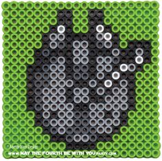 Millennium Falcon - Star Wars perler beads by May the 4th be with You Party Anette