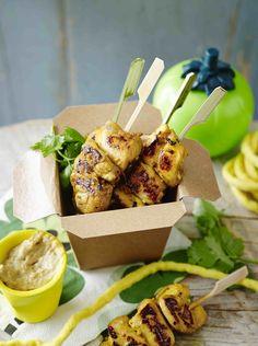 Paleo Satay Chicken Skewers Recipes | POPSUGAR Fitness Australia