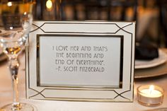 Love quotes as wedding/anniversary party favors. Could used as table numbers