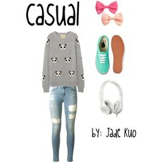 casual by: Jade Kuo