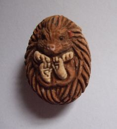 ADORABLE Ceramic Hedgehog Bead needs home by pinkee on Etsy, $1.99