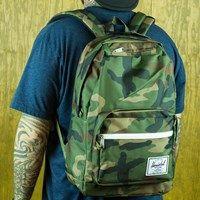 Herschel Pop Quiz Backpack Woodland Camo One Size Fits All